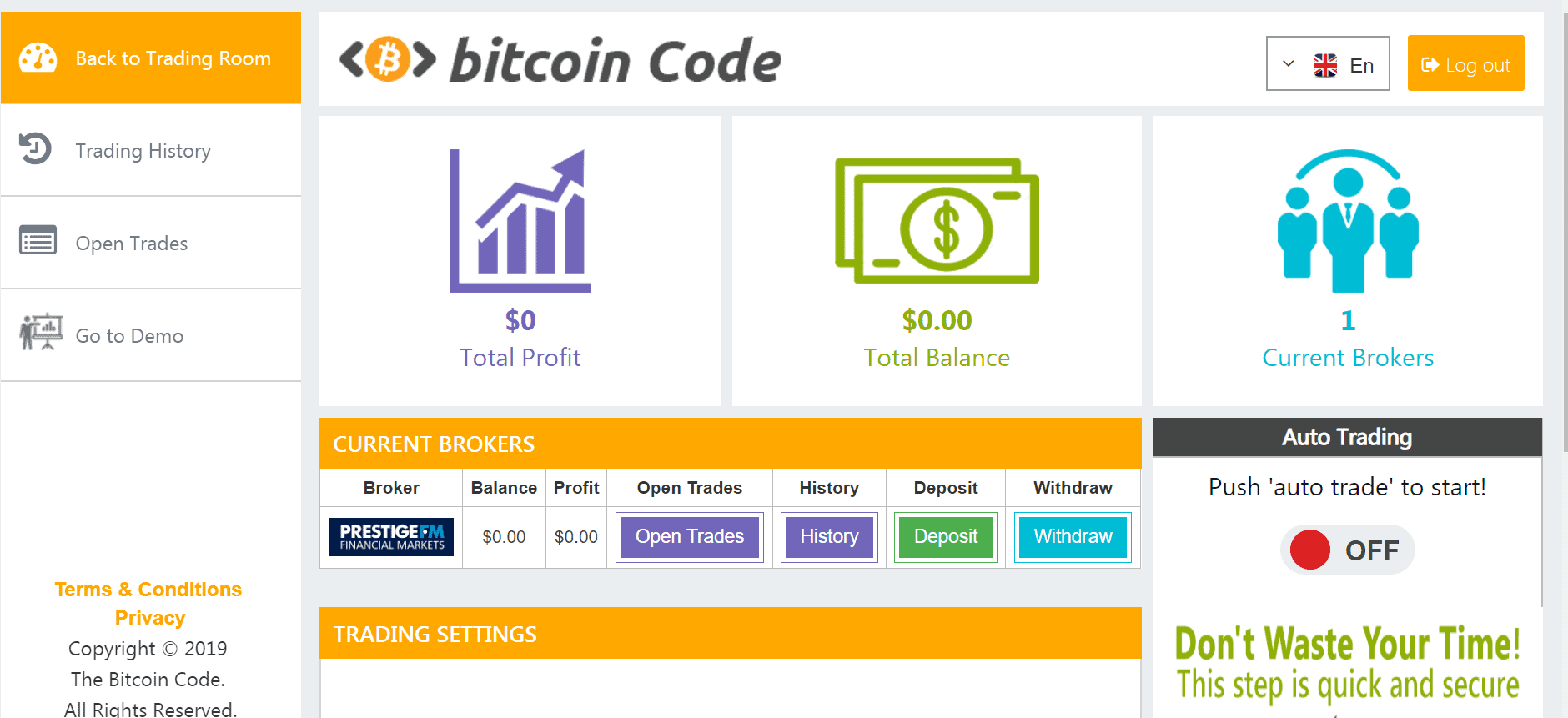 bitcoin auto trading bot