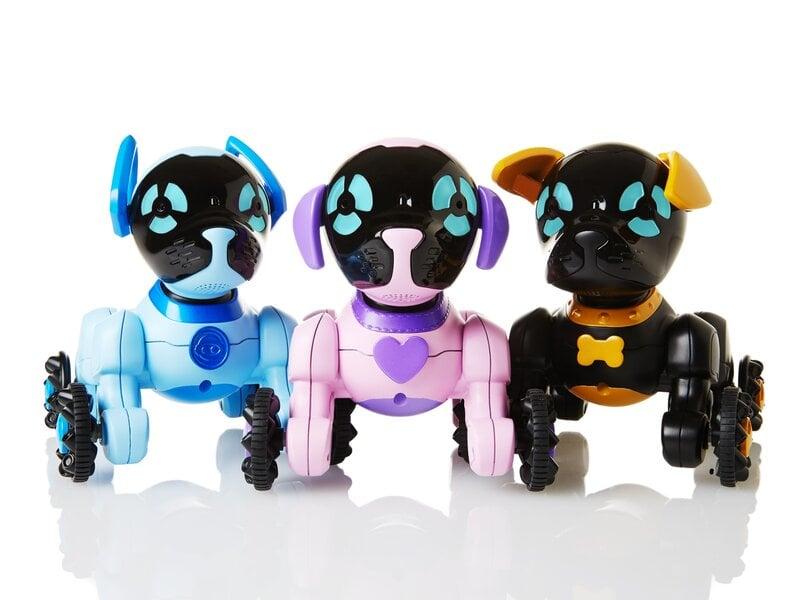 dvejetainiai robotai